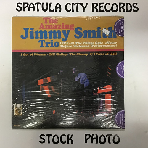 Amazing Jimmy Smith Trio, The - Live at the Village Gate - MONO - vinyl record LP