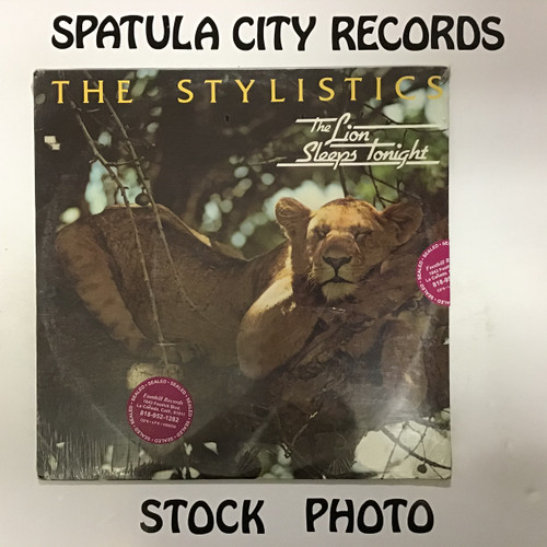 Stylistics, The - The Lion Sleeps Tonight - SEALED - vinyl record LP
