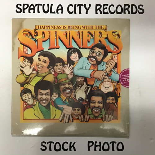 Spinners - Happiness is Being With the Spinners -SEALED - vinyl record LP