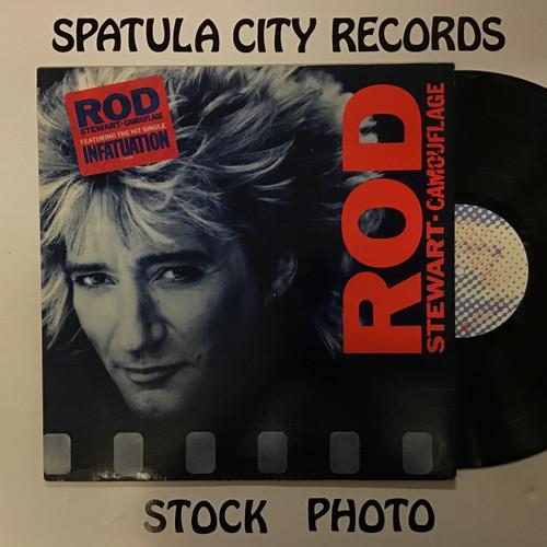 Rod Stewart - Camouflage - vinyl record LP