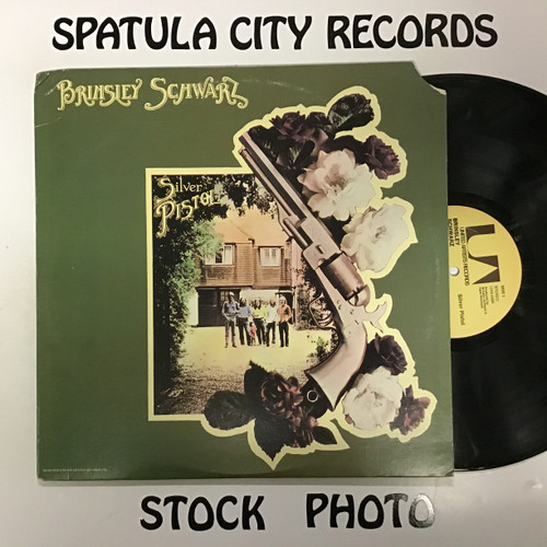 Brinsley Schwarz - Silver Pistol - vinyl record LP