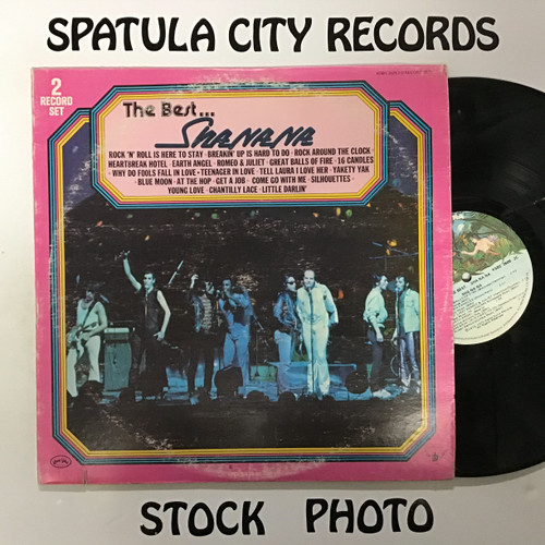 Sha Na Na - The Best of Sha Na Na - double vinyl record LP