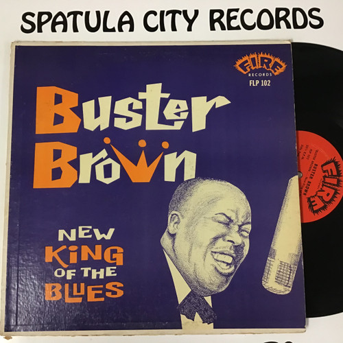 Buster Brown - New King of the Blues - MONO - Vinyl record album LP