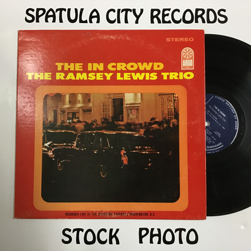 Ramsey Lewis Trio, The - The In Crowd - vinyl record LP