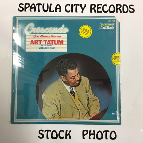 Art Tatum - At The Piano Volume One - SEALED - vinyl record LP