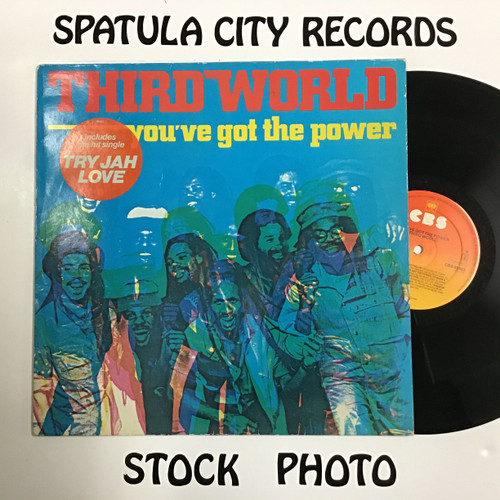 Third World - You've Got The Power - IMPORT - vinyl record LP