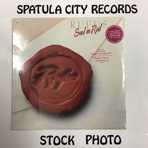 Rufus - Seal in Red - SEALED - vinyl record LP