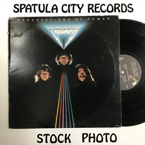 Triumph - Progressions of Power - vinyl record LP