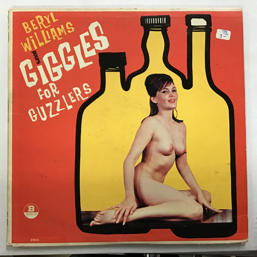 Beryl Williams - Pours Giggles for Guzzlers Vinyl record