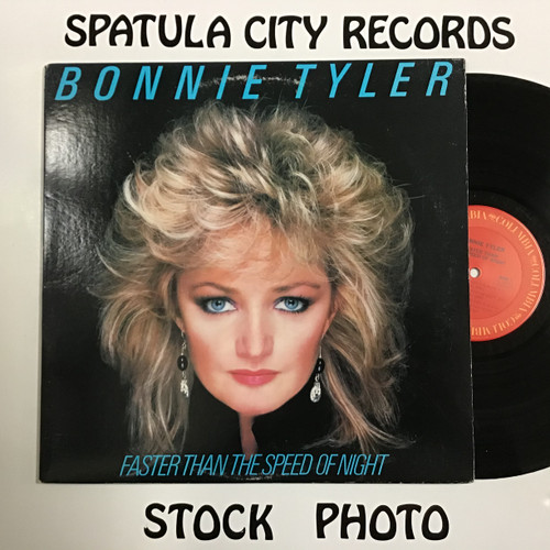 Bonnie Tyler - Faster Than The Speed of Night - vinyl record LP