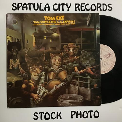 Tom Scott and The L.A. Express - Tom Cat - vinyl record LP