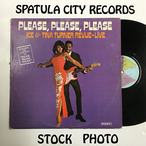 Ike and Tina Turner - Please, Please, Please - vinyl record LP