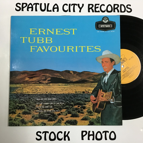 Ernest Tubb - Favourites - IMPORT - vinyl record LP