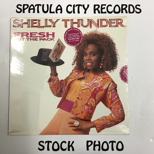 Shelly Thunder - Fresh Out Of The Pack - SEALED - vinyl record LP
