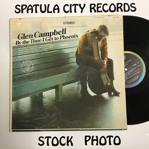 Glen Campbell - By The Time I Get to Phoenix - vinyl record LP