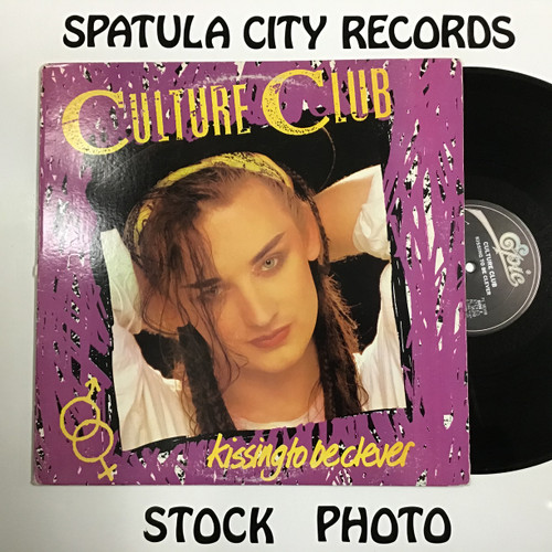 Culture Club - Kissing to Be Clever - vinyl record LP