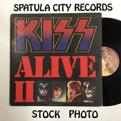 Kiss - Alive II - double vinyl record LP