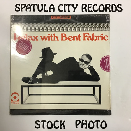 Bent Fabric - Relax with Bent Fabric - SEALED - vinyl record LP