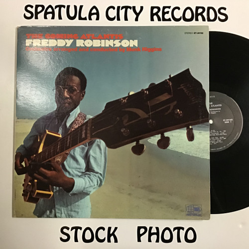 Freddy Robinson - The Coming Atlantis - vinyl record LP