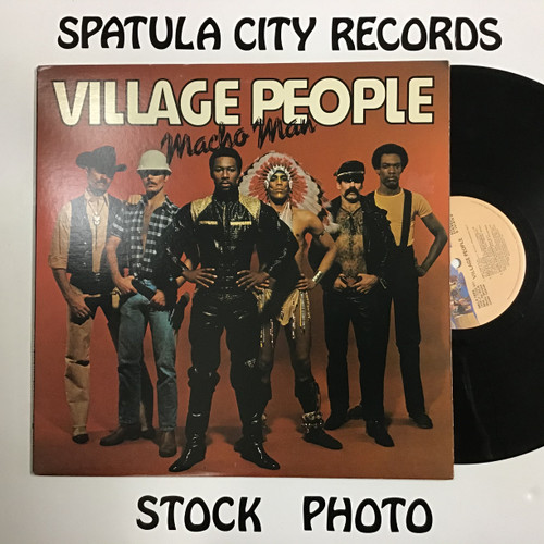 Village People - Macho Man - vinyl record LP