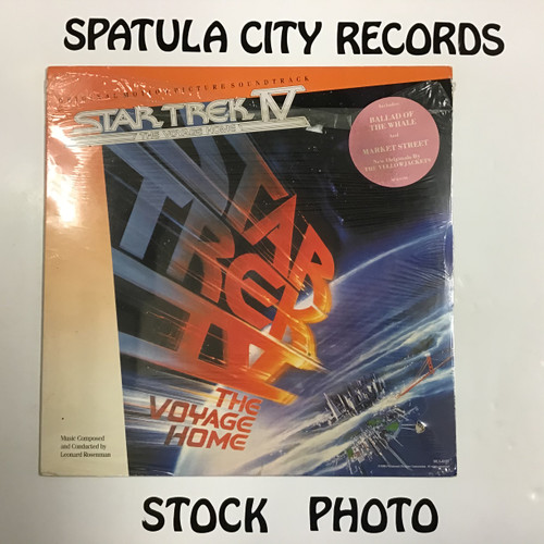 Leonard Rosenman - Star Trek IV The Voyage Home - Soundtrack - SEALED - vinyl record LP