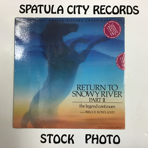 Bruce Rowland - Return to Snowy River Part II - Soundtrack - SEALED - vinyl record LP