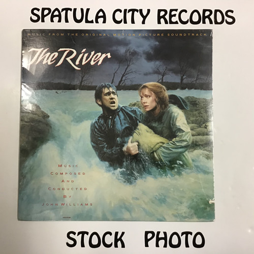 John Williams - The River - Soundtrack - SEALED - vinyl record LP