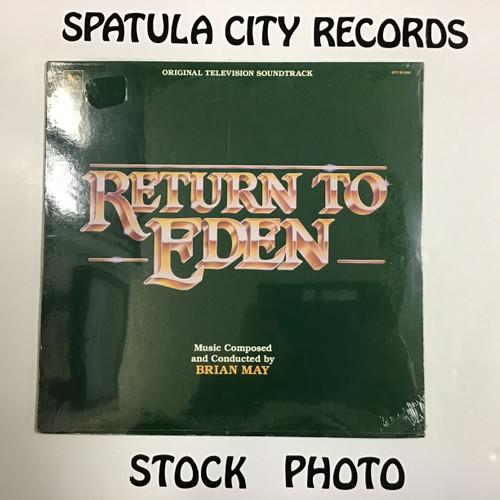 Brian May - Return To Eden - soundtrack - SEALED - vinyl record LP
