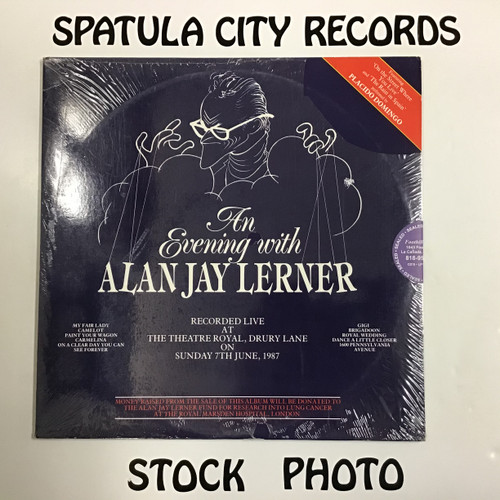 An Evening with Alan Jay Lerner - Complilation - Soundtrack - SEALED - double vinyl record LP