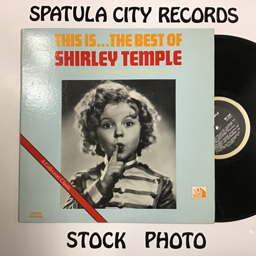 Shirley Temple - This is the Very Best of Shirley Temple - soundtrack - vinyl record LP