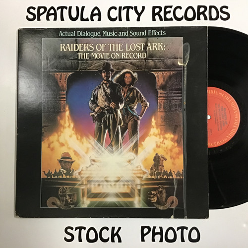 Steven Spielberg - Raiders of the Lost Ark - The Movie on Record - vinyl record LP