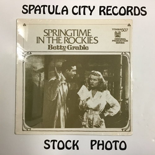 Betty Grable - Springtime in the Rockies/Sweet Rosie O'Grady - soundtrack - SEALED - vinyl record LP