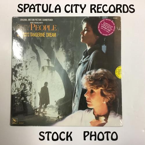 Tangerine Dream - Shy People - soundtrack - SEALED - vinyl record LP