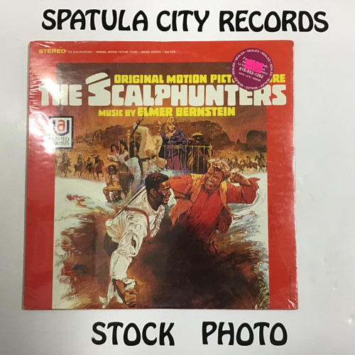 Elmer Bernstein - The Scalphunters - SEALED - vinyl record LP