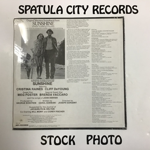 Sunshine - soundtrack - SEALED - vinyl record LP