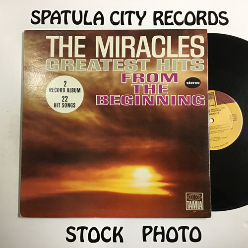 Miracles, The - The Miracles Greatest Hits From the Beginning - double vinyl record LP
