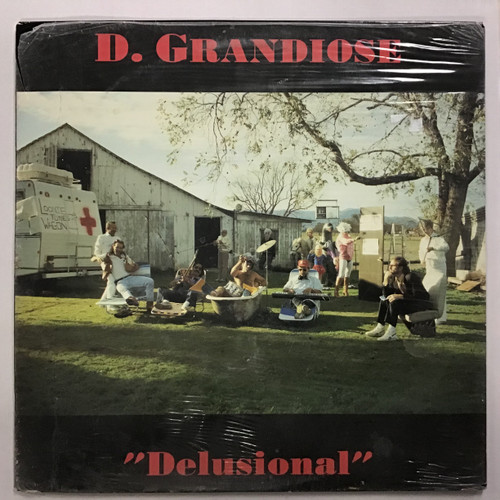 D. Grandiose - Delusional - SEALED Vinyl record