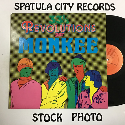 Monkees, The - Thirty Three and One Third Revolutions - vinyl record LP
