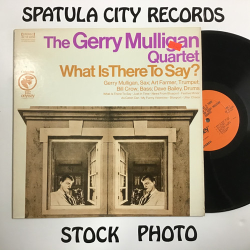 Gerry Mulligan Quartet, The - What is There to Say? - IMPORT - vinyl record LP