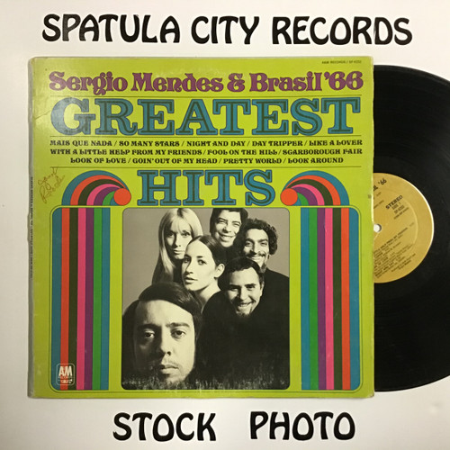 Sergio Mendes and Brasil 66 - Greatest Hits - vinyl record LP