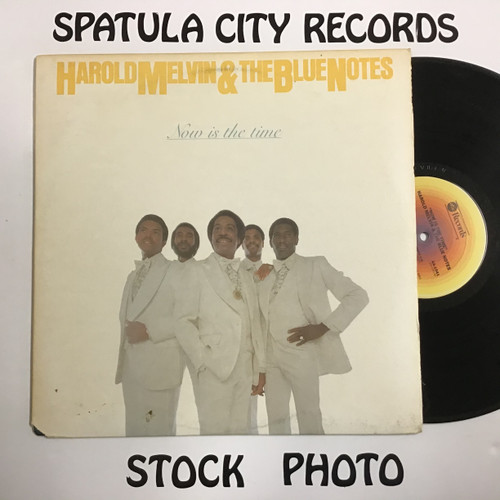 Harold Melvin and The Blue Notes - Now Is The Time - vinyl record LP