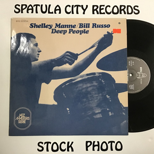 Shelley Manne/Bill Russo - Deep People - IMPORT - vinyl record LP