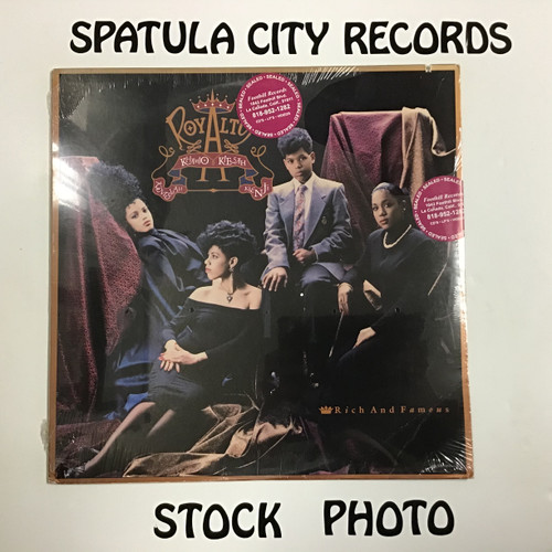 Royalty - Rich and Famous - SEALED - vinyl record LP
