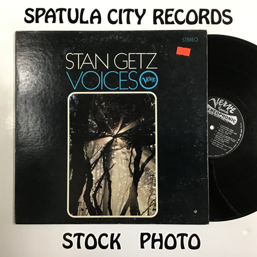 Stan Getz - Voices - vinyl record LP