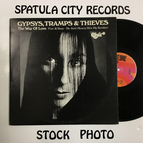 Cher - Gypsys, Tramps and Thieves - vinyl record LP