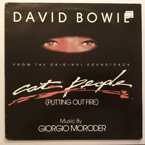 David Bowie - Music By Giorgio Moroder cat people Soundtrack Vinyl record
