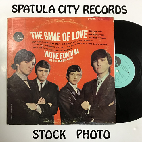 Wayne Fontana and The Mindbenders - The Game of Love - vinyl record LP