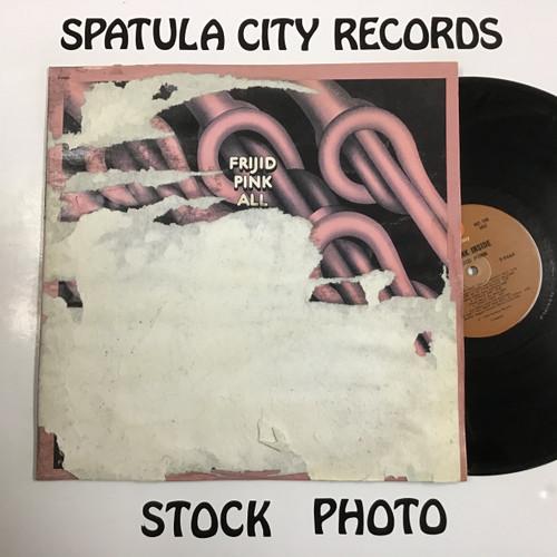 Frijid Pink - All Pink Inside - PROMO - vinyl record LP