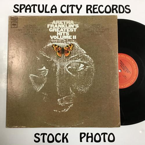 Aretha Franklin - Aretha Franklin's Greates Hits Volume II - vinyl record LP