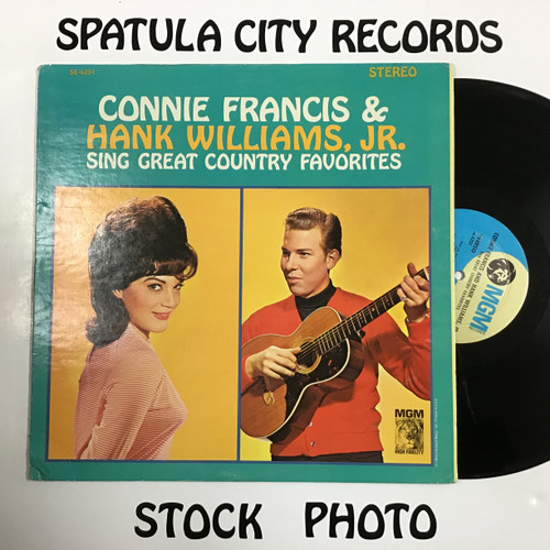 Connie Francis and Hank Williams Jr. - Sing Great Country Favorites - vinyl record LP